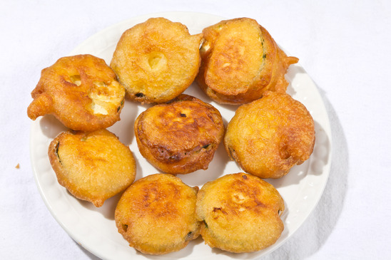 la recette des beignets de courgette