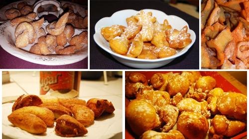 Les recettes de Mardi gras