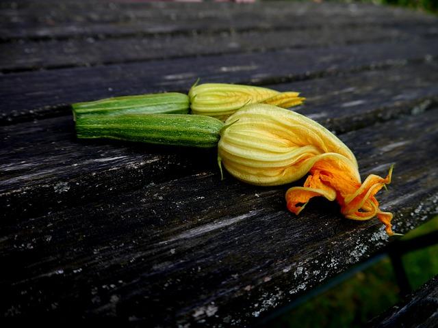 Beignet de fleur de courgettes