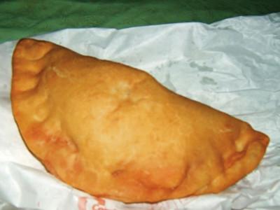 Beignet de pâte à pizza dit Panzerotti!